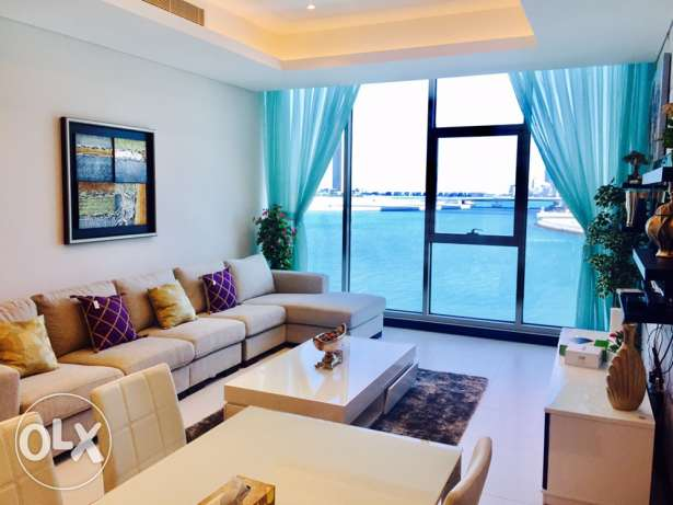 Reef-Island,Two bedrooms brand new luxury apartment for rent .