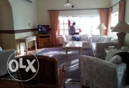Fully Furnished 3 Bedroom Villa with private gard in janabia rent 150