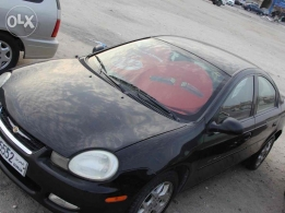 Chrysler neon black color for sale 2002