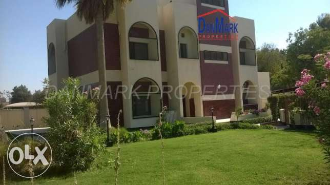 SAAR 5 Bedroom Semi Furnished 2 Storey Villa with Private Garden