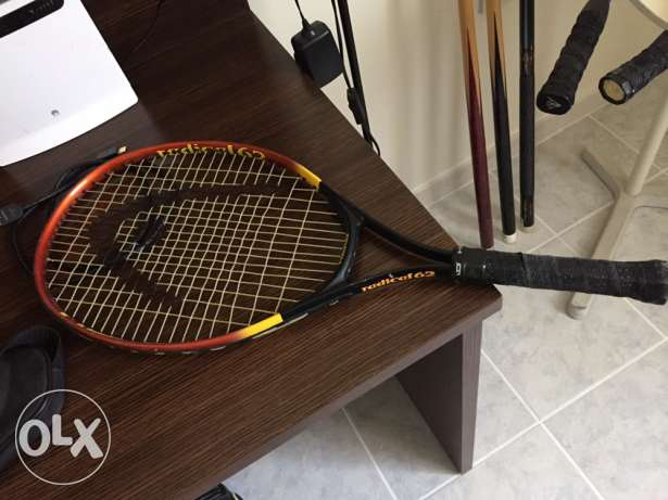 tennis and squash rackets
