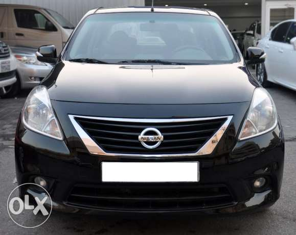 Zero down payment Nissan Sunny full option 2013 model