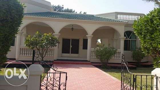 semi furnished villa with private villa with garden