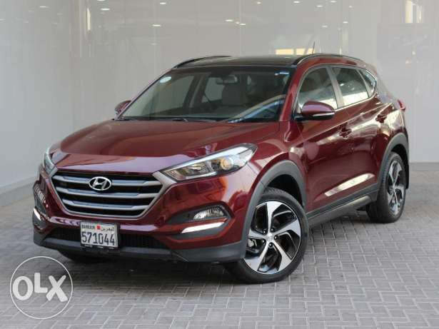 Hyundai Tucson 2016 Maroon For Sale