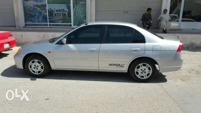 Honda civic 2001 excellent condition