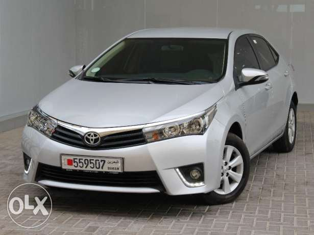Toyota Corolla 2.0 Silver 2016 For Sale