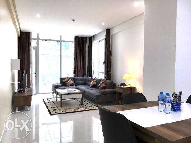 2 BR brand new appartment,Juffair.Inclusive.Very clean.600 BD.