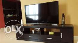 Tv 50 inc LED screen 6 months used with tv unit