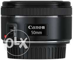 canon 50mm f/1.8 lens EF