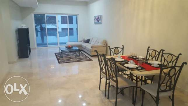 3bedroom lagoon view flat for rent in amwaj island.