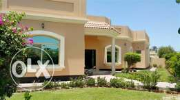 JBA23 4br semi furnished villa With private pool close to cause way