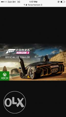 i need the forza horizon 3 for pc