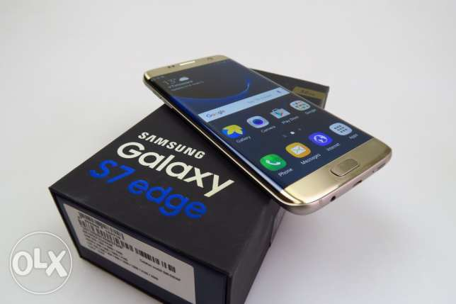 For Sale S7 Edge Gold In Mint Condition 1 Month Used