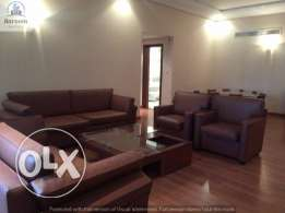 3 bedroom flat in Mahooz/fully furnished inclusive