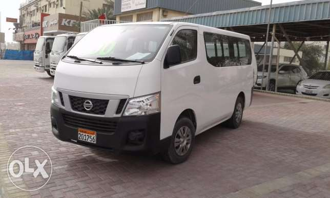 Nissan passenger mini bus 2.5L MODEL 2014