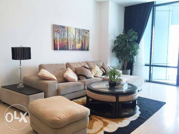 Two Bedrooms apartment,Seef area.