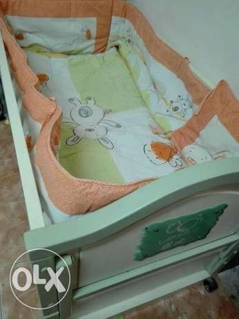 Baby cot(reduced price bd 20)