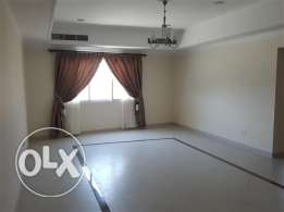 very spacious 2 bedroom semi furnished flat