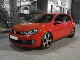 Volkswagen GTI 2012 with ABT Turbo / Red color for sale