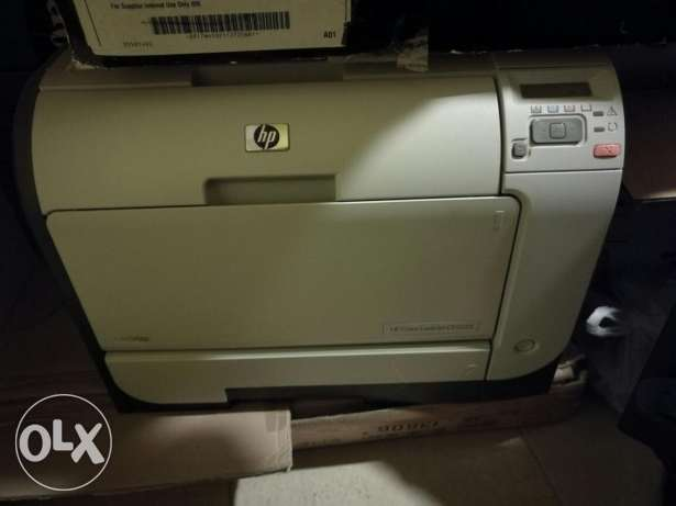 Hp laserjet Printer used shortly, toner is almost empty