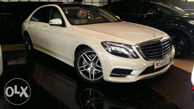 مرسيدس اس 400 كالجديدة mercedes s400 AMG as new