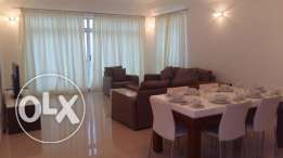 3 bedrooms penthouse with modern furniture huge balcony & Sea views