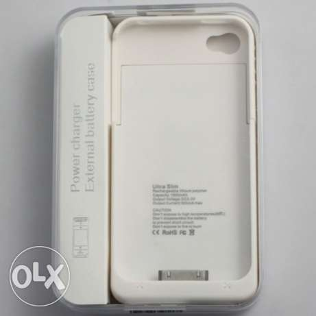 For sale new. power bank case for iPhone 4/4s 19000mah