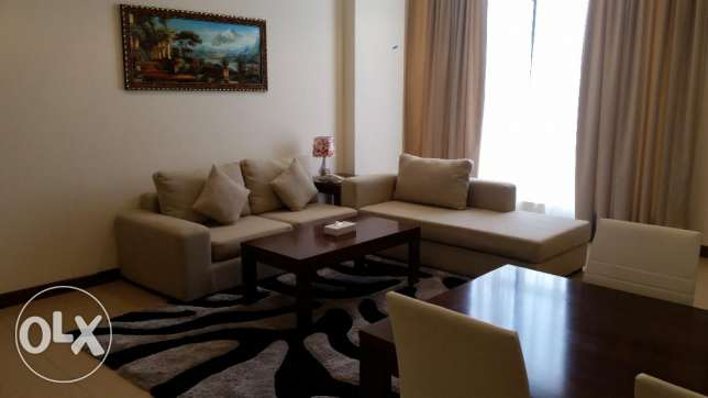 Brand new luxurious two bedroom furnished apartment available for rent