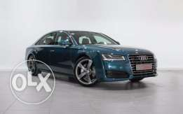 Audi Approved A8L Blue 50 TFSI Sport Edition