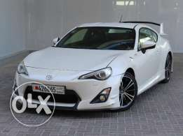 Toyota 86 M/T 2013 White For Sale