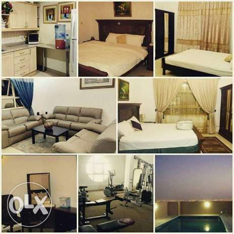 Juffair - 2 BHK F.F - Near Al Jazeera - Al Bayan Tower - Rent 500 Inc