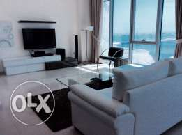 EXECUTIVE SEA VIEW 2 bedroom fully furnished apartment at Mahooz