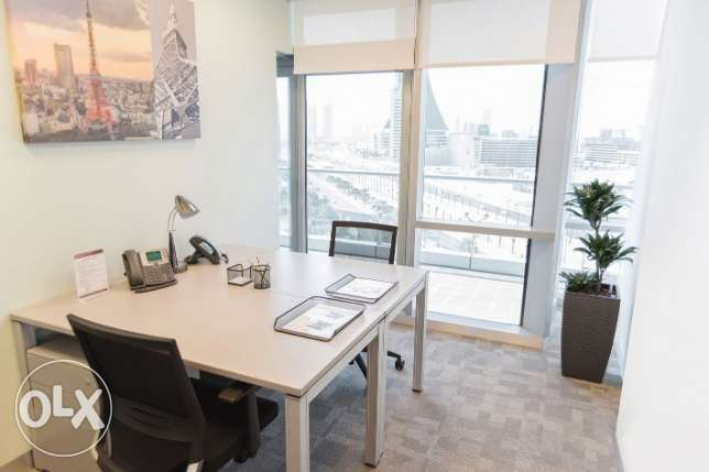 Fully furnished office in the heart of Manama(CR)
