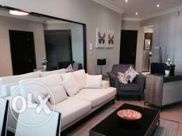 Brand new luxury two-bedroom fully furnished apartment