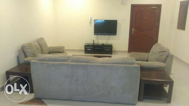 New fully furnished 2BR flat for rent ام الحصم -  1