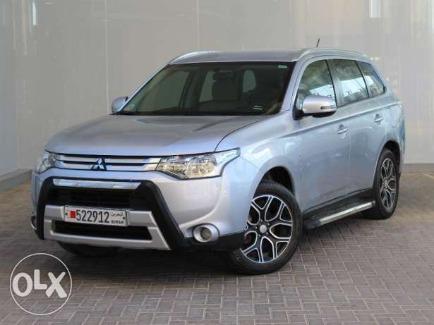 Mitsubishi Outlander 2015 Silver For Sale