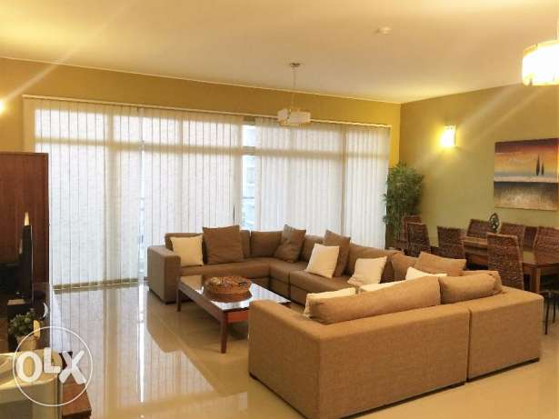 Three bedrooms with Maid,s room apartmen in Amwaj-Island.