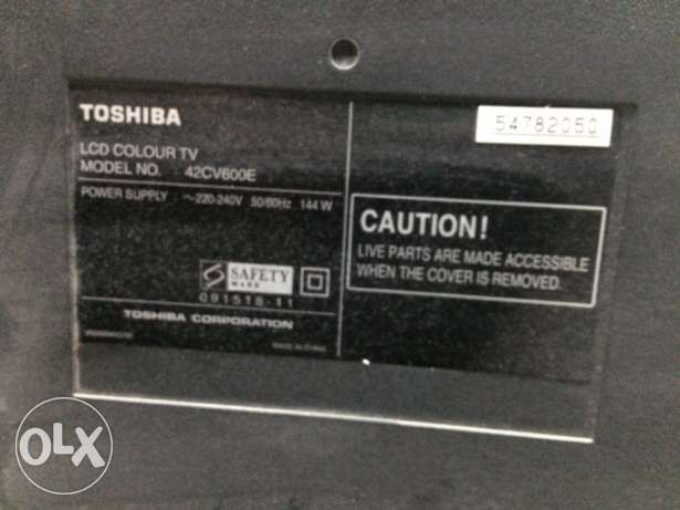 Toshiba T.V for sale