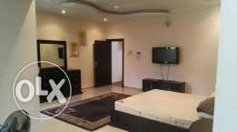 3 bedroom plus maid room fully furnished villa for rent in new hidd