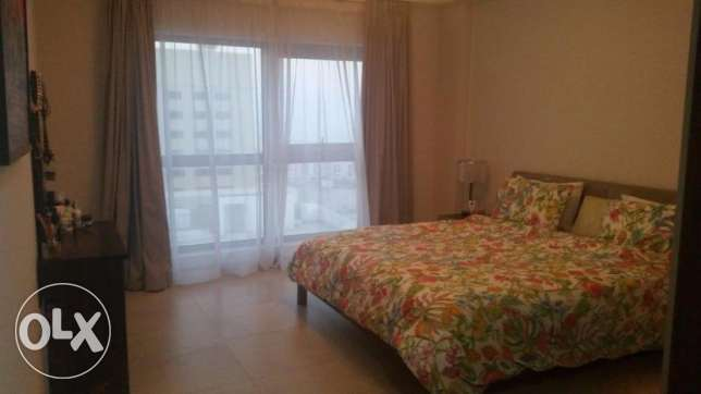 1 bedroom flat on higher floor with balcony at Amwaj Island.