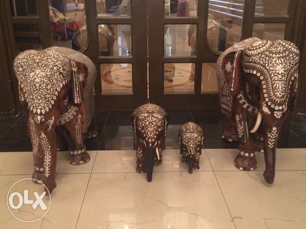Rare Elephant Antiques with Real Ivory