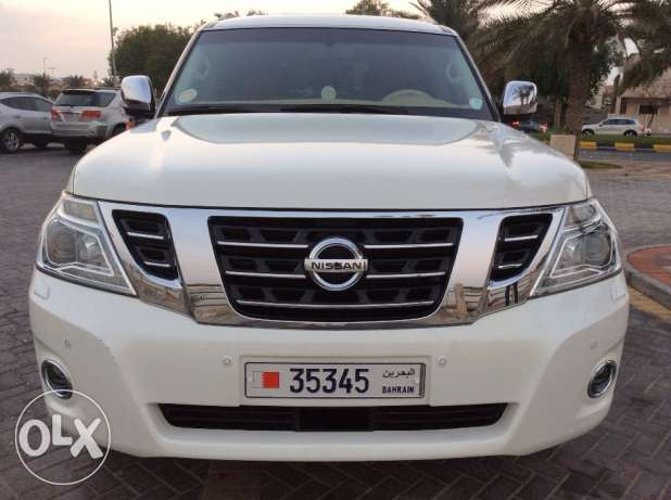 For Sale 2015 Nissan Patrol SE2 Single Owner Bahrain Agency