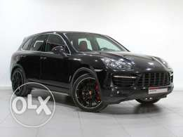 Porsche Cayenne Turbo Approved BLACK 2014