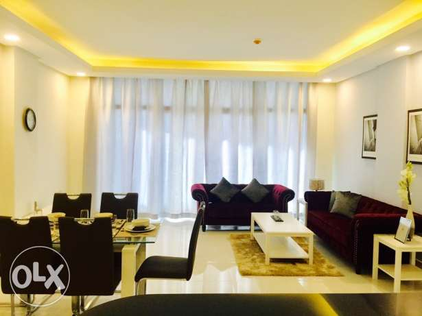 Brand new Two bedrooms apartment in Amwaj-Island.