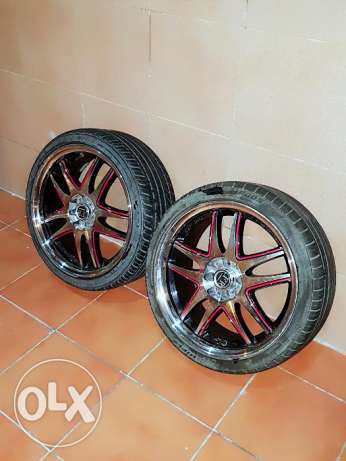 For sale allow wheels 17 inch new tires and allow wheels