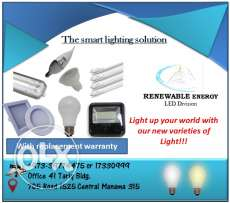High Quality & Affordable LED Lights from Renewable Energy!!!