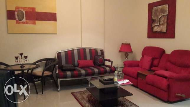 Charming 1&haff bedrooms apartment fully furnished with pool views