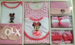 Disney 10 Pcs Baby Girl Gift Set