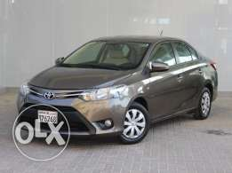 Toyota Yaris 1.3L 2014 Brown For Sale
