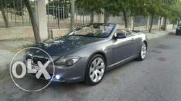 BMW 650i convertible luxury car